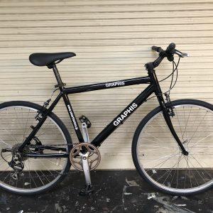 xe đạp nhật bãi Graphis(đen)