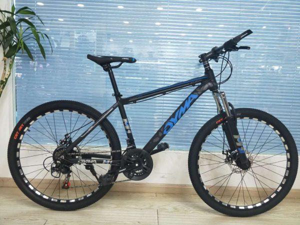 Xe đạp thể thao cao cấp Dyma màu xanh