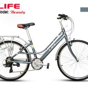 Xe đạp Mini Life Beauty màu bạc