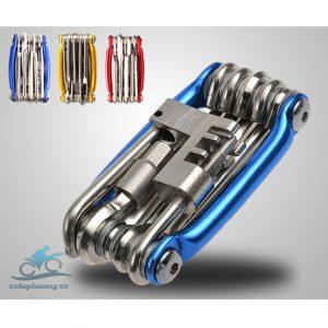 Bộ công cụ đa năng sửa chữa xe đạp 11 món trong 1