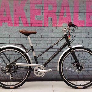 Xe đạp mini thể thao make raley đen