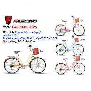 Xe đạp mini FASCINO FD26